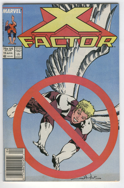 X-Factor #15 First Horsemen Of The Apocalypse Key News Stand Variant FVF