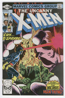 Uncanny X-Men #144 The Macabre Man Thing Cockrum Issue FVF