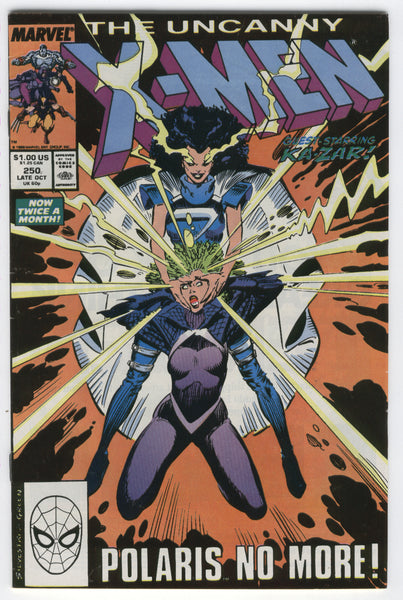 Uncanny X-Men #250 Polaris No More FN