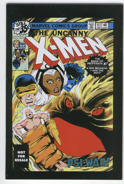 X-Men #117 HTF Action Figure Promo Variant John Byrne Art FN