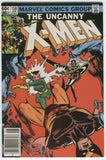 Uncanny X-Men #158 Rogue Attacks! News Stand Variant Modern Age Key FN