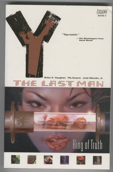 Y: The Last Man Ring of Truth Vol. 5 FIrst Printing VFNM
