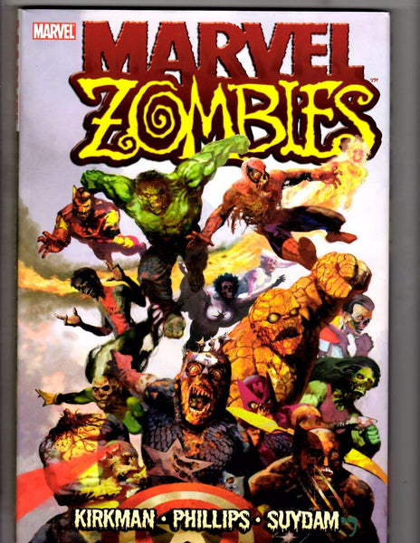 Marvel Zombies Trade Hardcover Original Series Kirkman Suydam VFNM