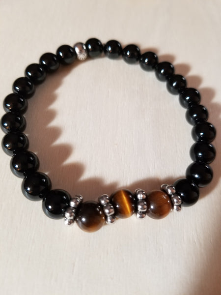 Bold and Beautiful Mens Bracelet