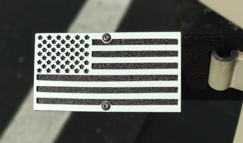 American Flag Foot Pegs for Jeep Wrangler