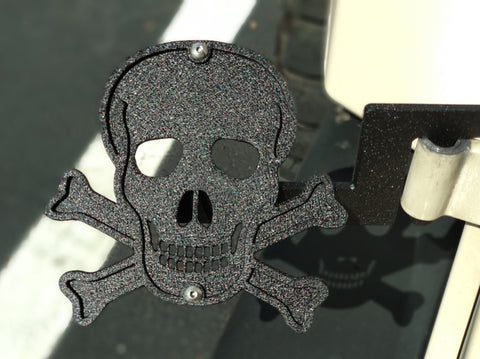 Skull & Crossbone Foot Pegs for Jeep Wrangler