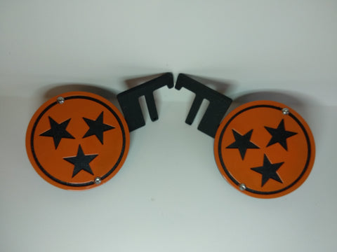 Tennessee State Logo Foot Pegs for Jeep Wrangler