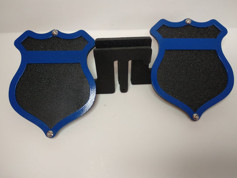 Police Badge Foot Pegs for Jeep Wrangler