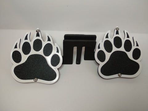 Bear Paw Foot Pegs for Jeep Wrangler