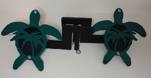 Sea Turtle Foot Pegs for Jeep Wrangler (with palm trees)