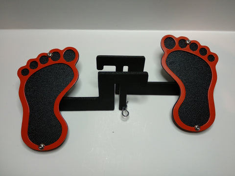 Barefoot Foot Pegs for Jeep Wrangler