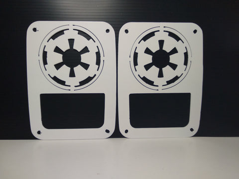 Imperial Tail Light Guards for Jeep Wrangler JK & TJ