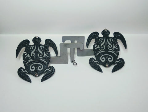 Tribal Turtle Foot Pegs for Jeep Wrangler