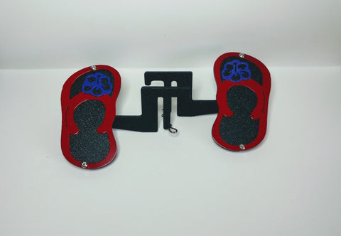 Flip Flops with Flower Foot Pegs for Jeep Wrangler