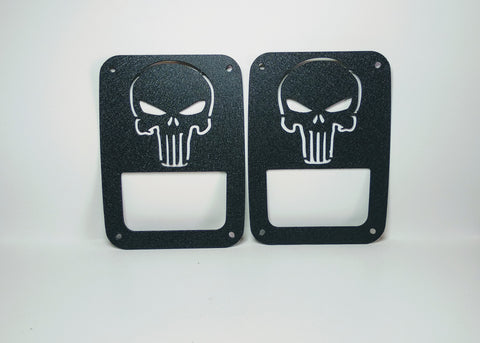 Punisher Tail Light Guards for Jeep Wrangler JK & TJ