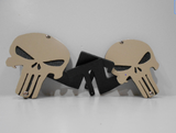 Punisher Skull Foot Pegs for Jeep Wrangler