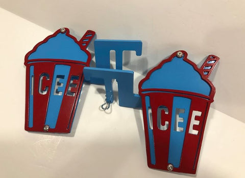 Icee Drink Foot Pegs for Jeep Wranglers