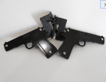 Pistols Foot Pegs for Jeep Wrangler