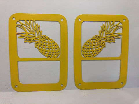 Pineapple Tail Light Guards for Jeep Wrangler JK & TJ