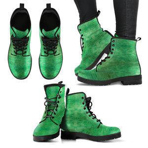 Green Gold Design - Women's Leather Boots Shoes