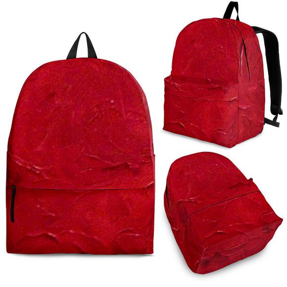 Red Passion Swirl Design - Backpacks