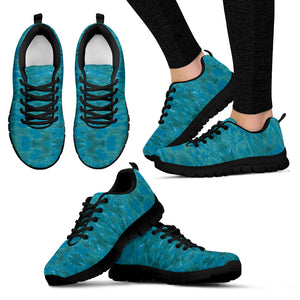 Green Paisley Enhanced Design - Women's Sneakers Shoes