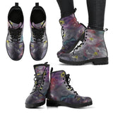 Purple Joy Design - Women's Leather Boots Shoes