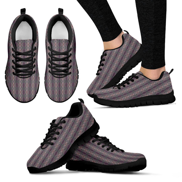 Purple Joy Enhanced Design - Women's Sneakers Shoes