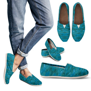 Green Paisley Enhanced - Women's Casual Shoes Espadrilles