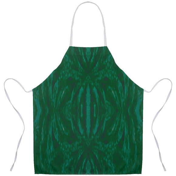 Green Burst Design - Aprons