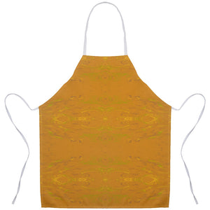 Yellow Glimmer Enhanced Design -  Aprons