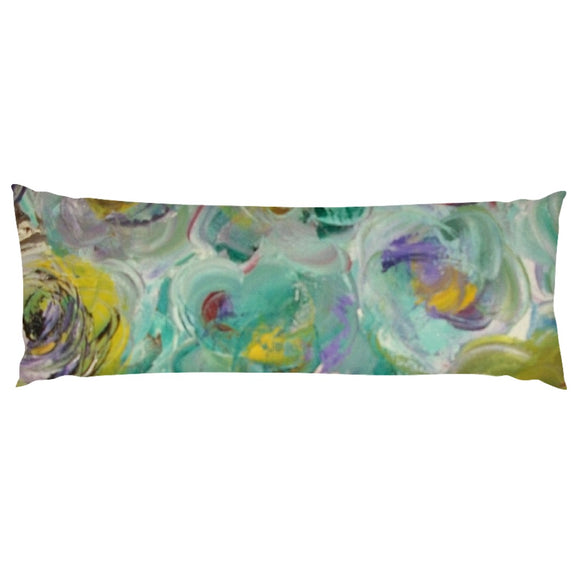 Floral Rhapsody Design - Body Pillows