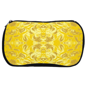 Yellow Glimmer Design - Cosmetic Bags