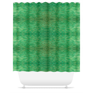 Green Gold Design - Shower Curtains