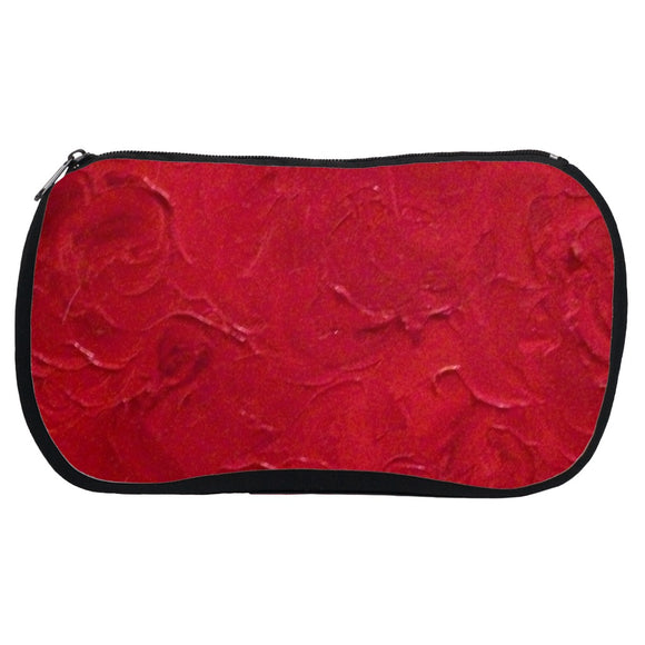 Red Passion Swirl Design - Cosmetic Bags
