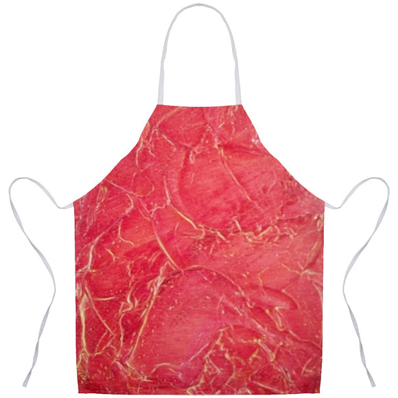 Orange Crackle Swirl Design - Aprons