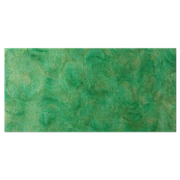 Green Gold Swirl Design - Bath Towels