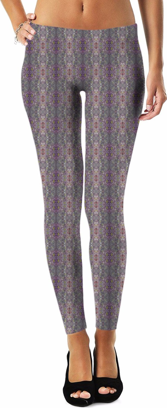 Purple Joy Enhanced Design - Leggings