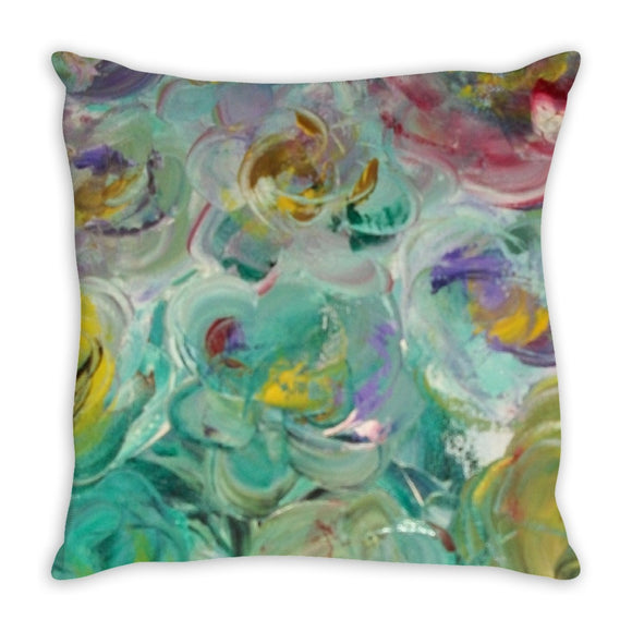 Floral Rhapsody Design - Throw Pillows