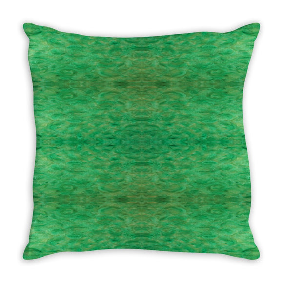 Green Gold Design - Throw Pillows