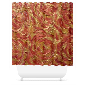 Glory Be Swirl Design - Shower Curtains