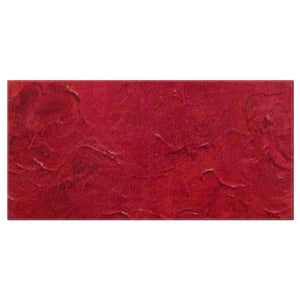Red Passion Swirl Design - Bath Towels