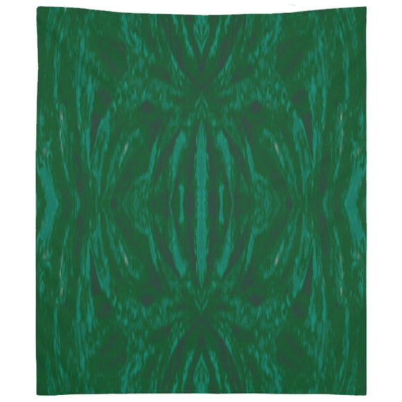 Green Burst Design - Tapestries