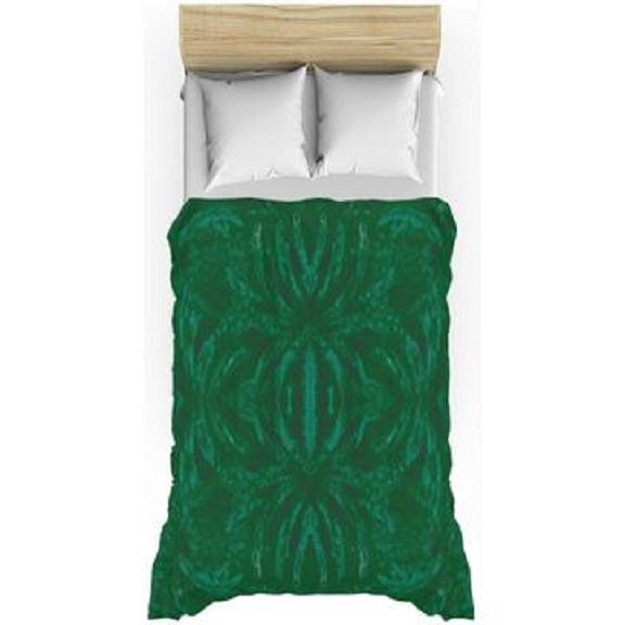 Green Burst Design - Duvet Covers