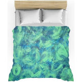 Green Paisley Design - Duvet Covers