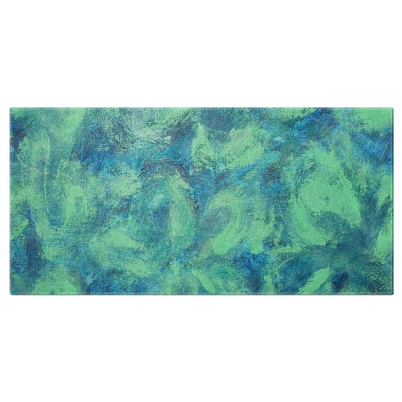 Green Paisley Design - Bath Towels