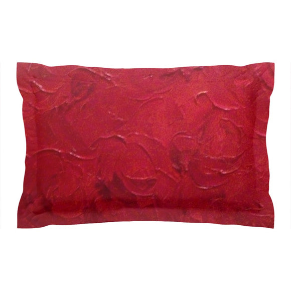 Red Passion Swirl Design - Pillow Shams