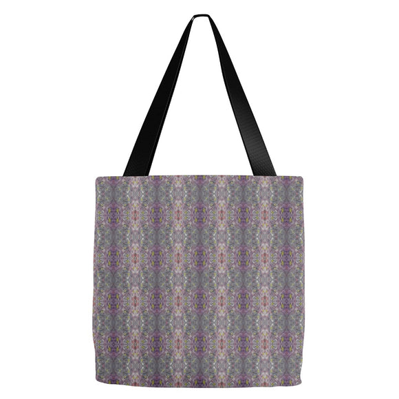 Purple Joy Enhanced Design - Tote Bags