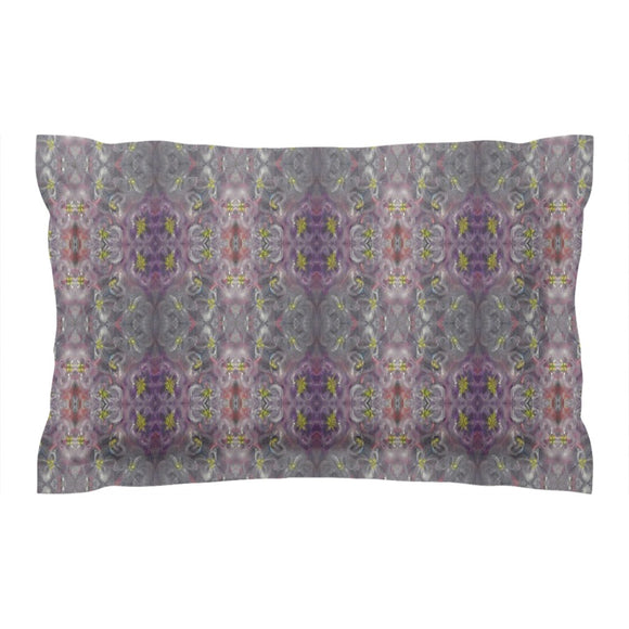 Purple Joy Enhanced Design - Pillow Shams