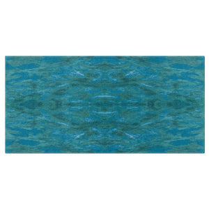 Green Paisley Enhanced Design - Bath Towels